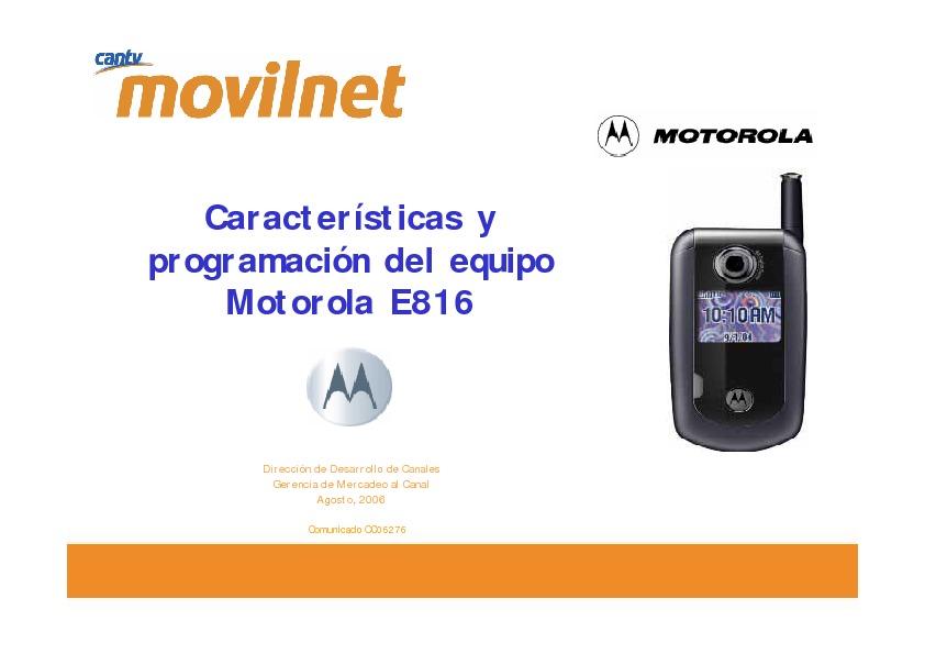 motorola e816.pdf
