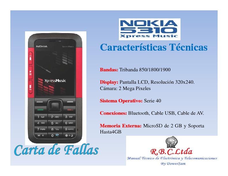 0[1].Carta de Fallas Nokia 5310.pdf