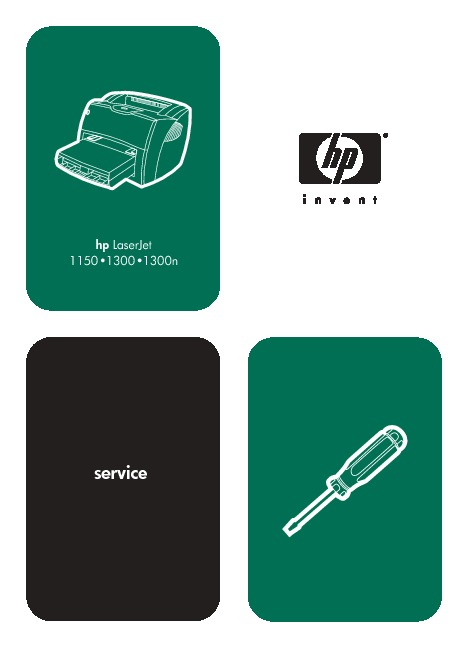 HP LJ 1000 Series Service Manual.pdf