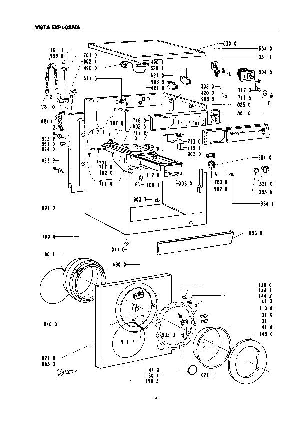 whirlpool despiece gabinete awm 464 pdf diagramas de