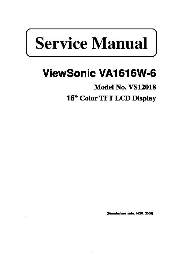 VA1616W-6 Model No VS12018.pdf