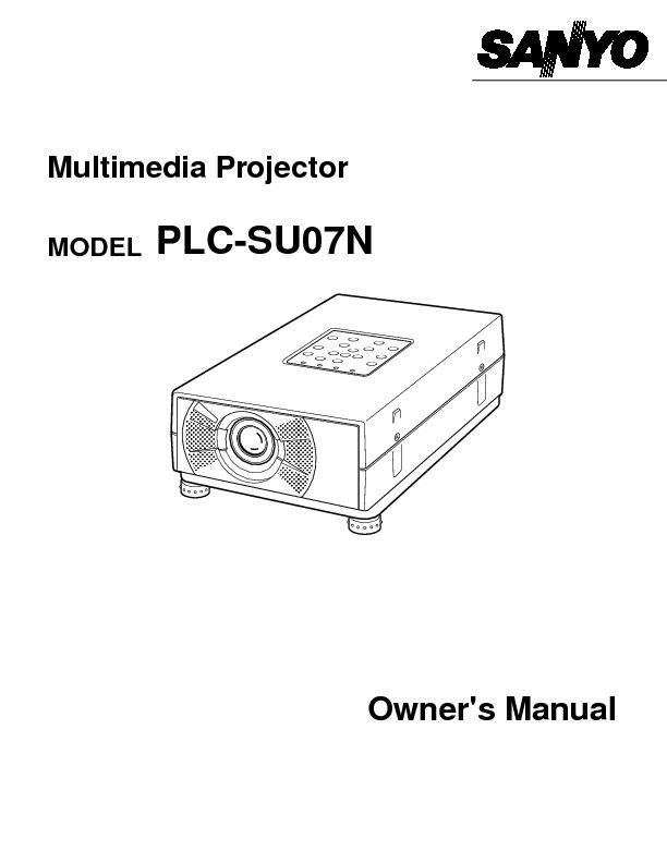 Manual SANYO PLCSU07N.pdf