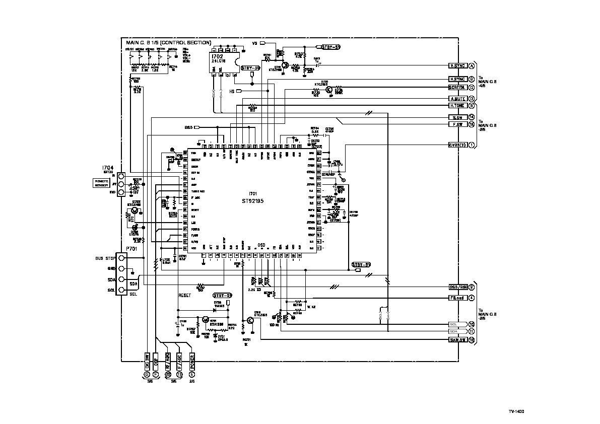 vizio service schematic