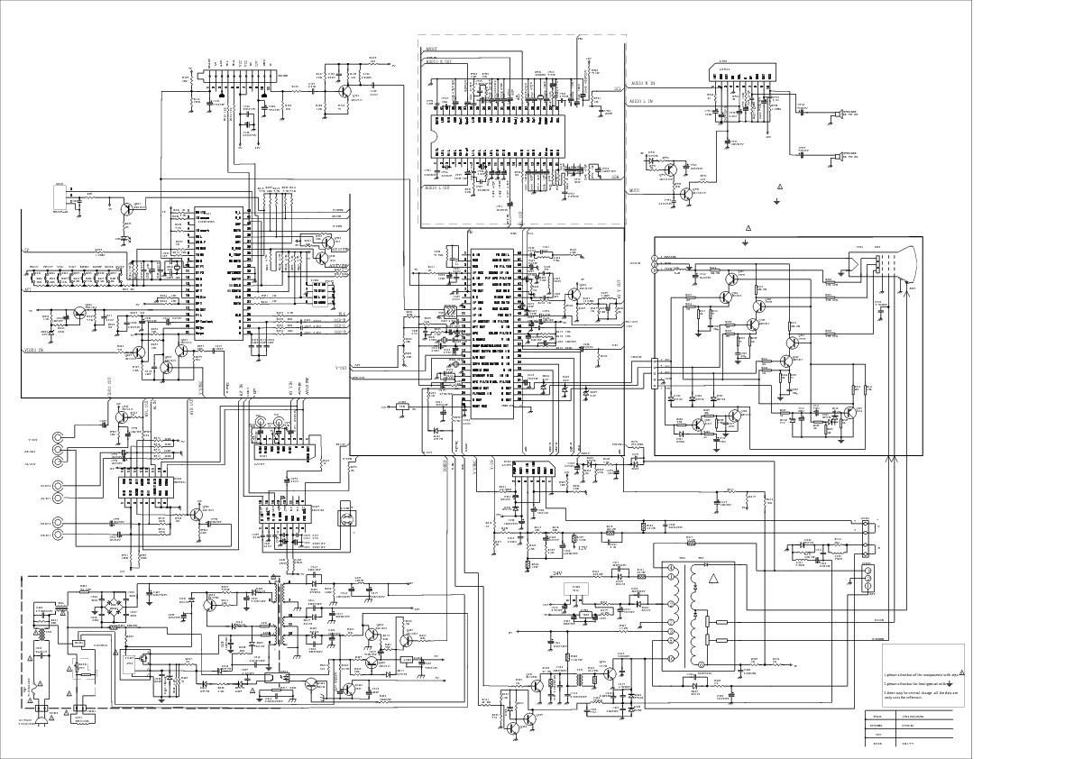 Mitsui Mtv 2901 Emerson Etv2901 Pdf Diagramas De Televisores Lcd Y Plasma