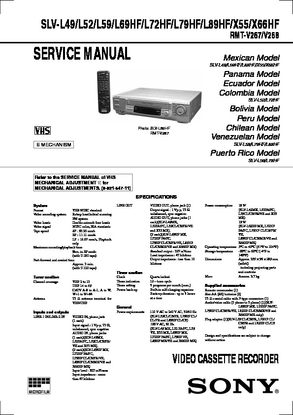 Sony SLV-X66HF y otras.pdf