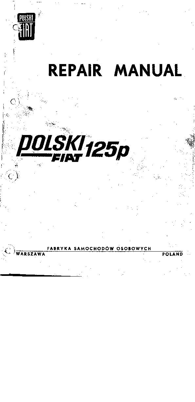 Polski Fiat 125p Repair Manual.pdf