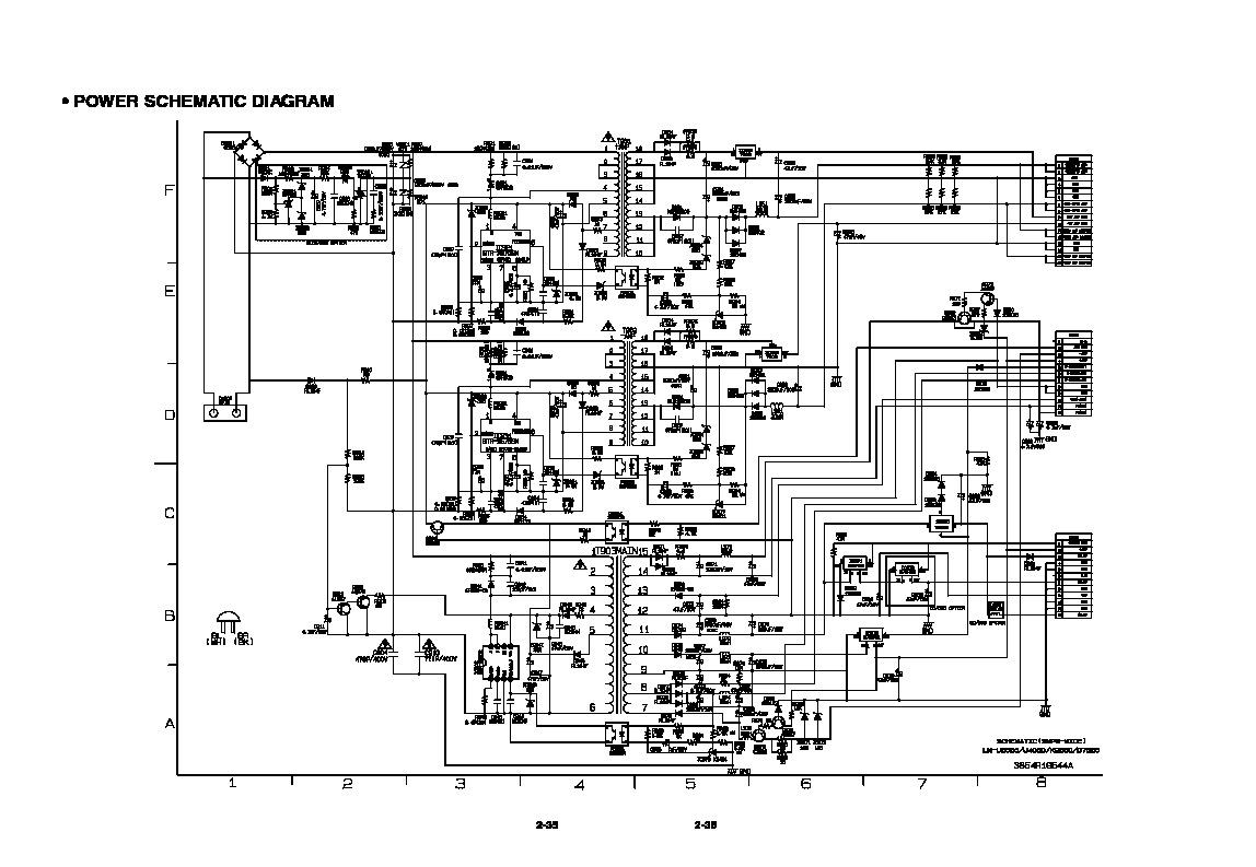 Lg Diagrama Fuente Lm U5050 Pdf Diagramas De Audio