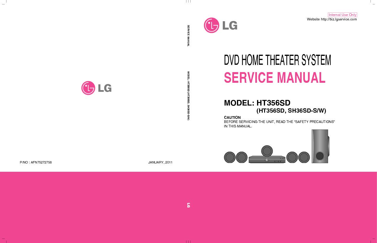 Lg Lg Ht356sd Sh36sd S W Afn75272758 Pdf Diagramas De Audio