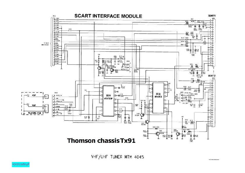 general electric ge 20091 ge 14091 20091 chasis tx91 pdf