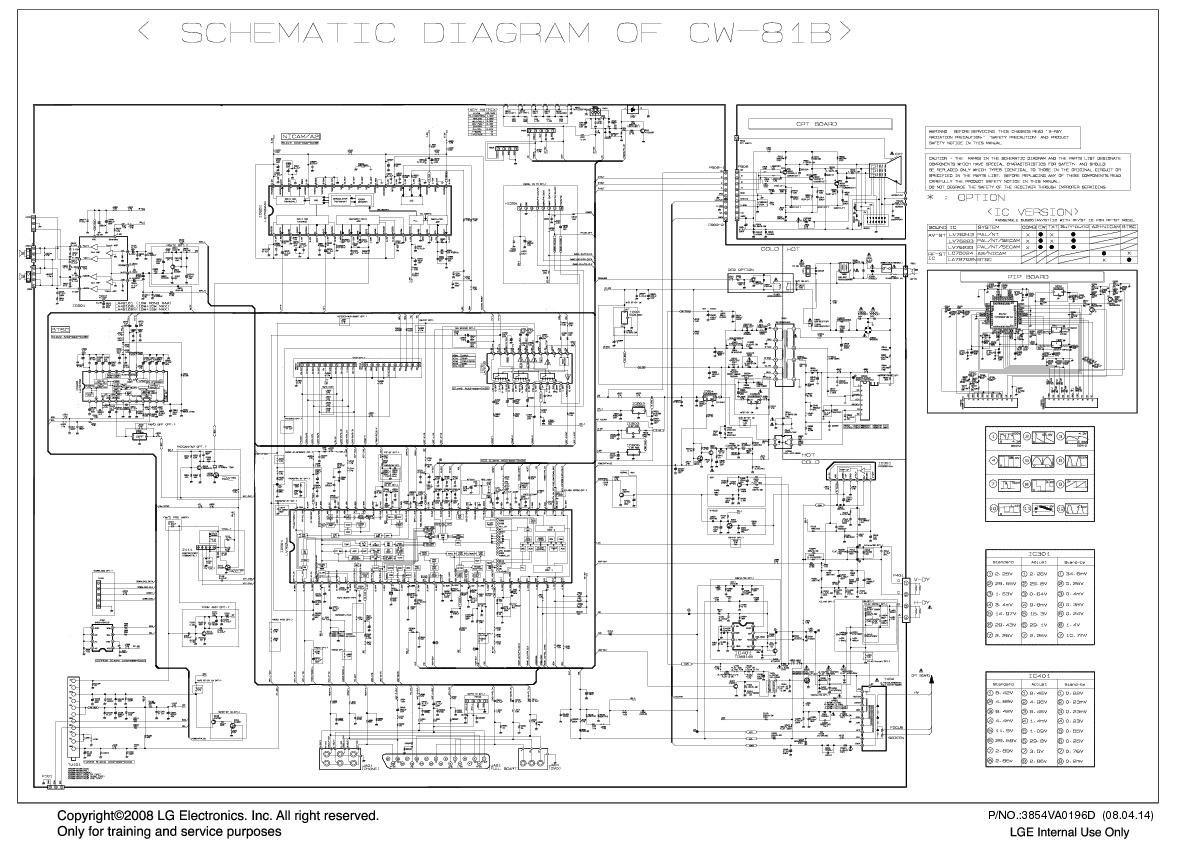 схема телевизора lg 21fu3rlx
