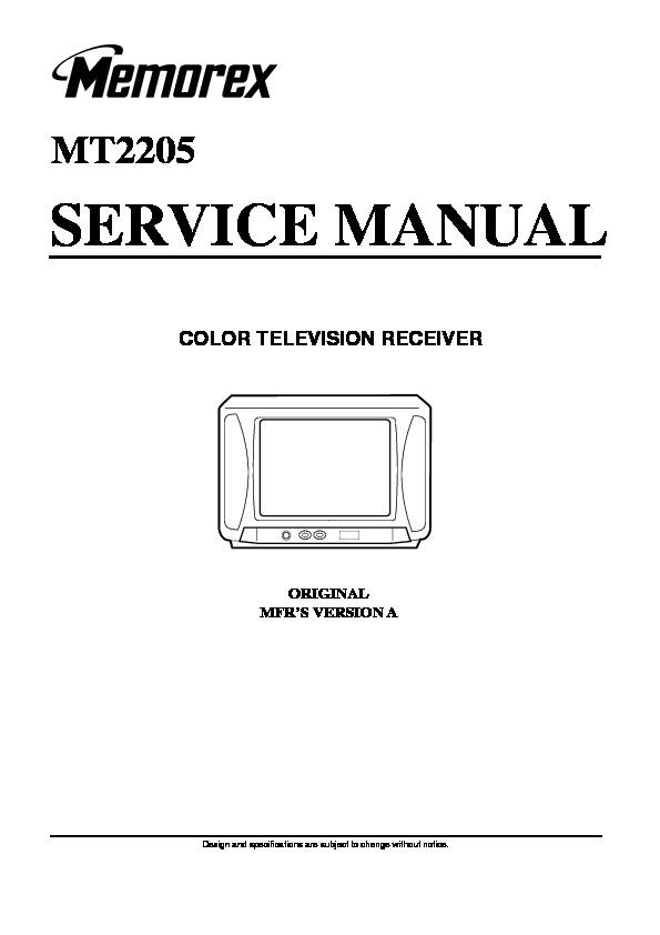 memorex memorex mt2205 memorex mt2205 pdf diagramas de