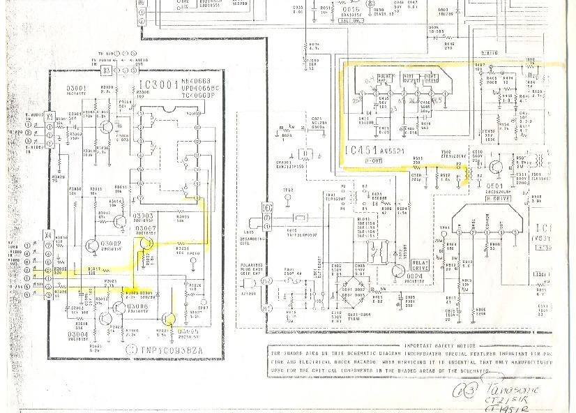 panasonic panasonic ct 2151r pdf diagramas de televisores
