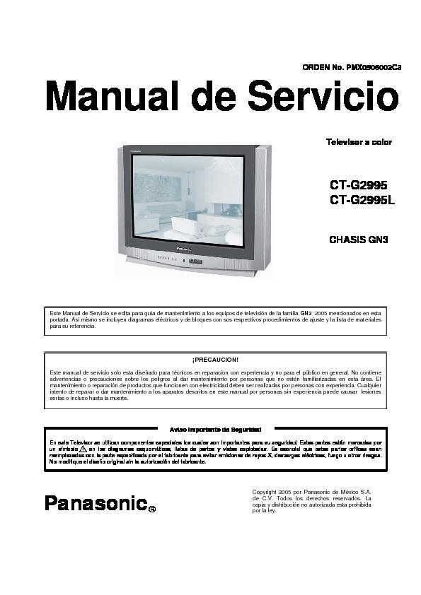 Panasonic CT-G2995 L Chasis GN3.pdf