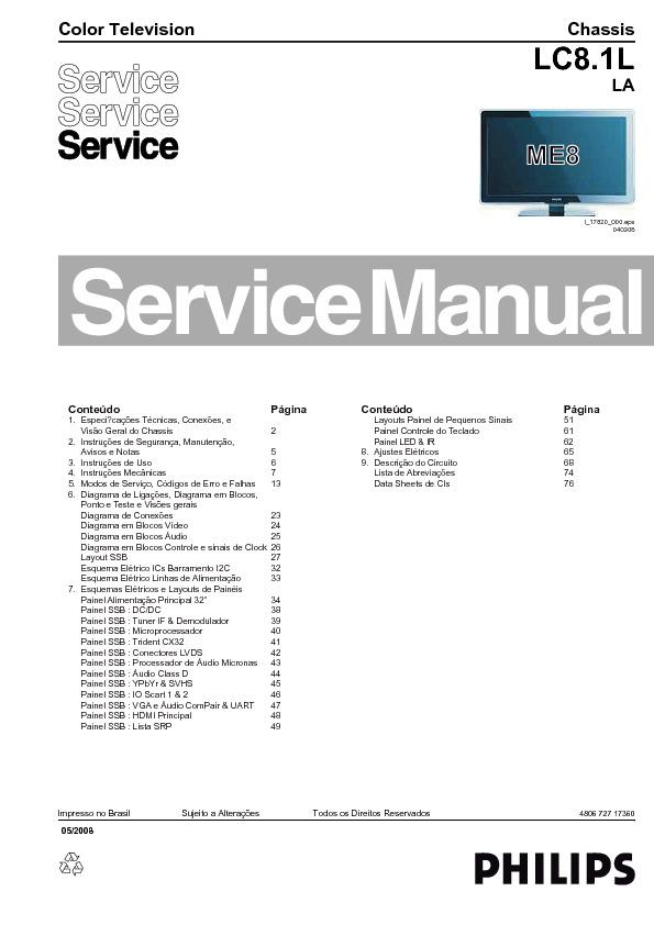 Philips 32PFL3403 Chassis LC8.1L LA.pdf