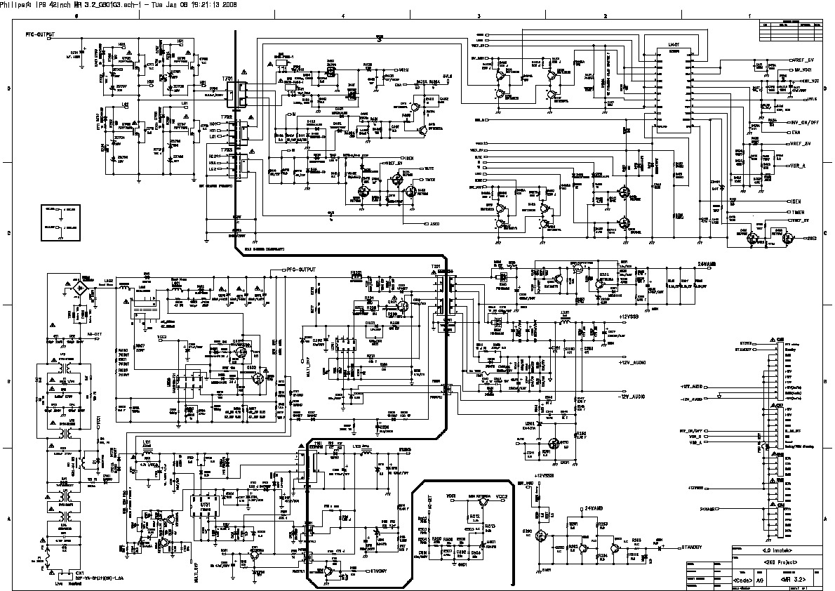 philips philips 42pfl3403 diagrama fuente pdf diagramas de televisores lcd y plasma