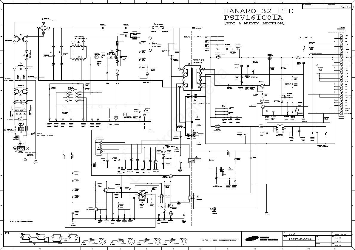 Samsung Ln32b530 Powersupply Inverter Pdf Diagramas De