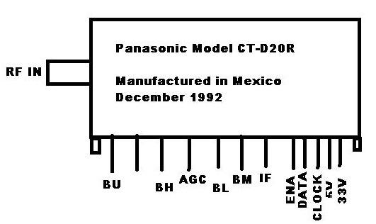 panasonic panasonic ct d20r sintonizador panasonic bmp diagramas de televisores lcd y plasma