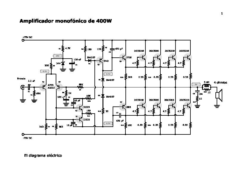 circuitos amp400w mono pdf diagramas de circuito