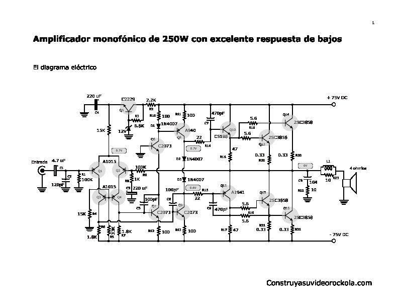 diagramas de circuitos electronicos sencillos  un paso a