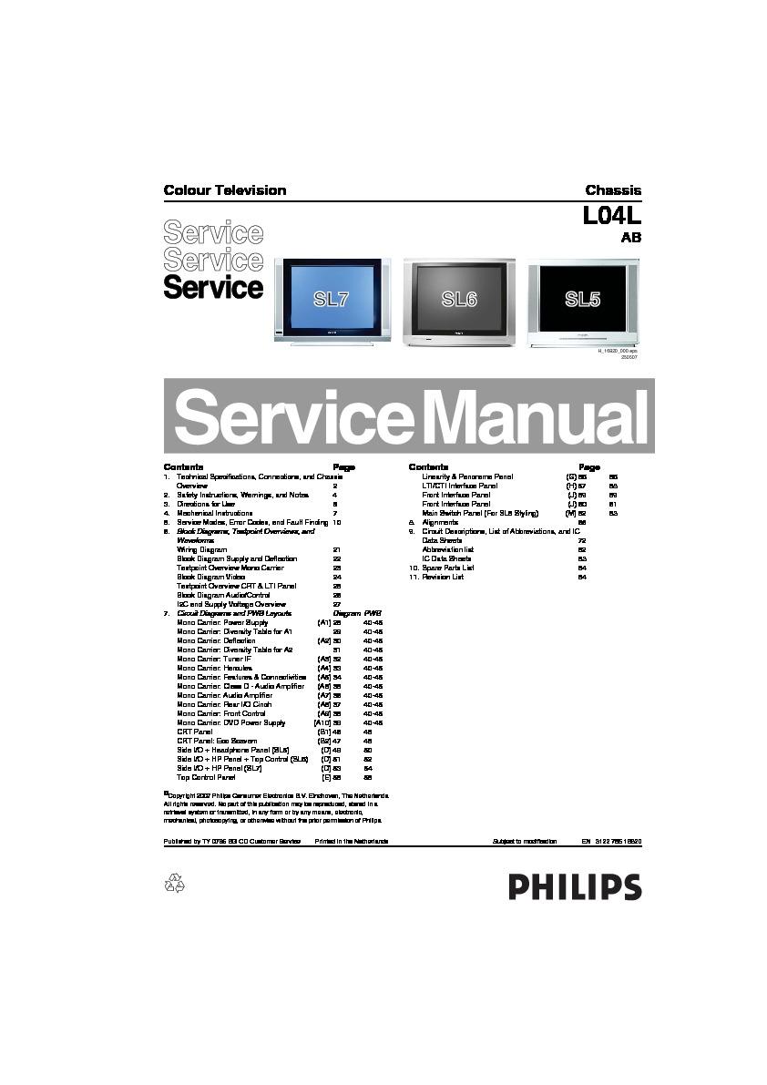 Philips L04lab En 3122 785 16820 Pdf Diagramas De Televisores Lcd Y The Ds1669 Is An Electronic Digital Rheostat Manufactured By Dallas 16820pdf Plasma