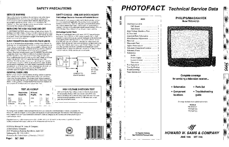 Philips TS2544C121 Chasis 25B800_7562.pdf