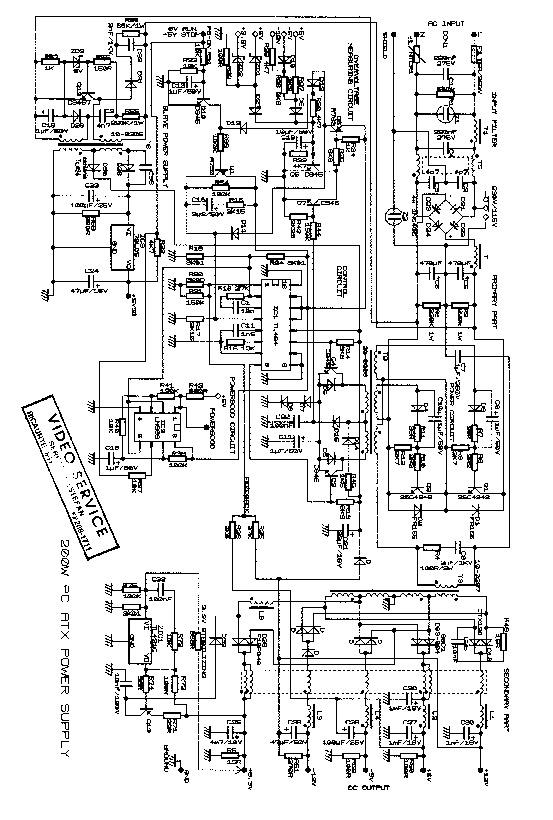 computadoras atx tl494 atx tl494 pdf diagramas de fuentes