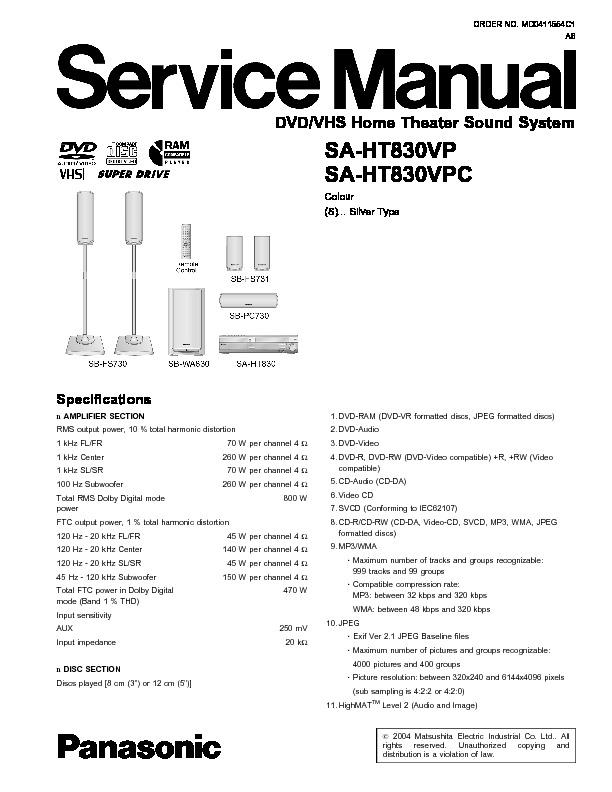 HOME DVD SA-HT830VP.pdf