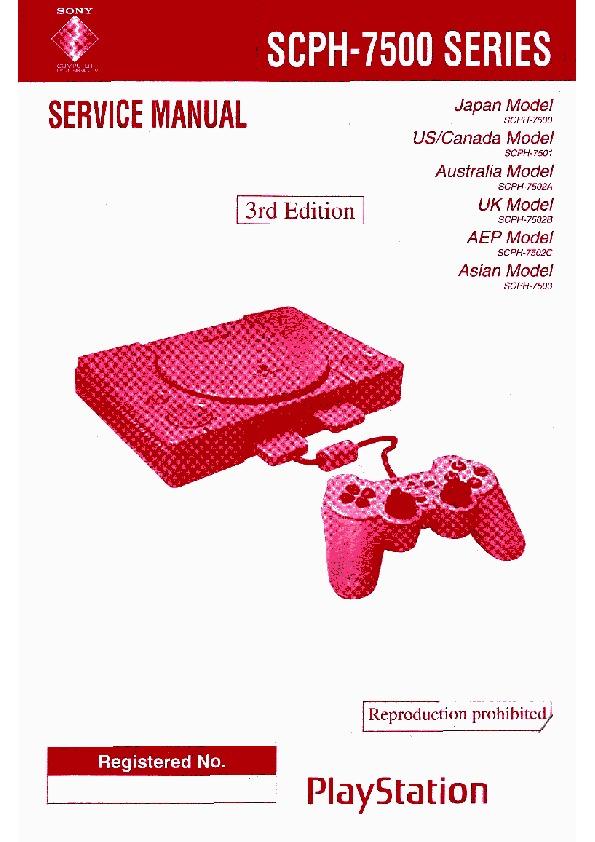 Sony Playstation SCPH-7500 Service Manual 1.pdf