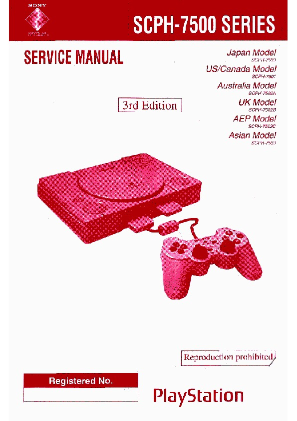 Sony Playstation SCPH-7500 Service Manual 1.pdf