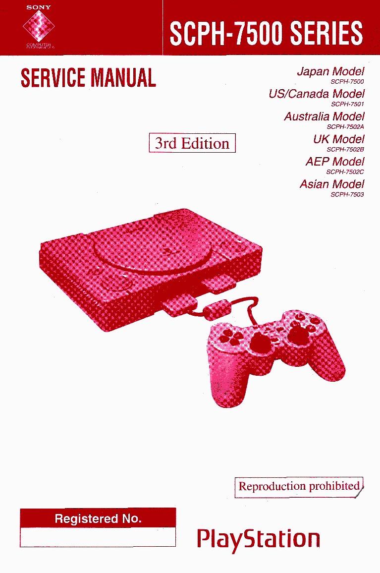 Sony Playstation SCPH-7500 Service Manual.pdf