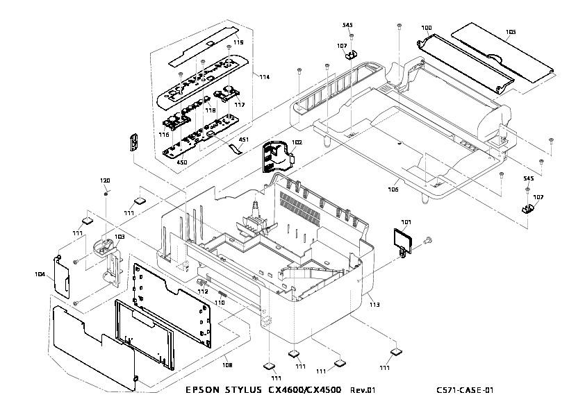 epson epson stylus cx4500 cx46 ed 1 pdf diagramas de