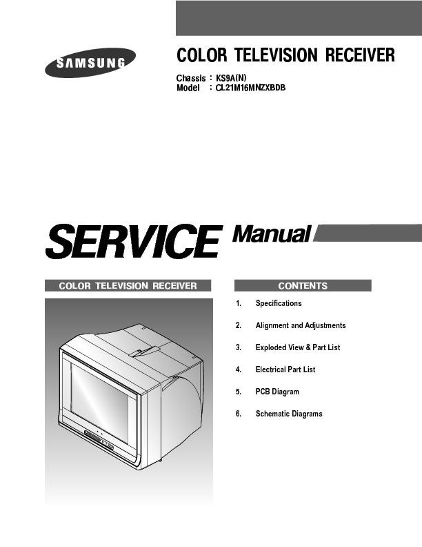 samsung lcd tv service manual pdf