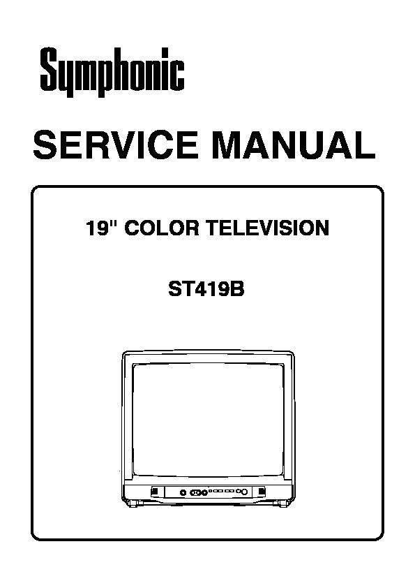 Symphonic WF-1901 ST419B M37272.pdf