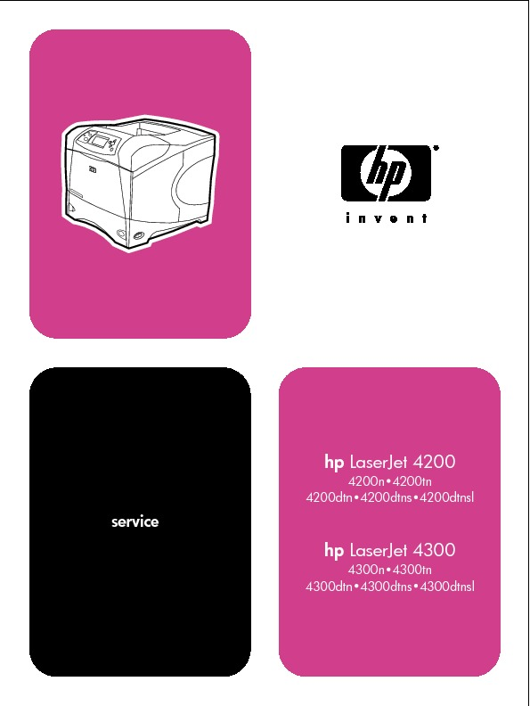 Servicemanual HP LaserJet 4200-4300.pdf