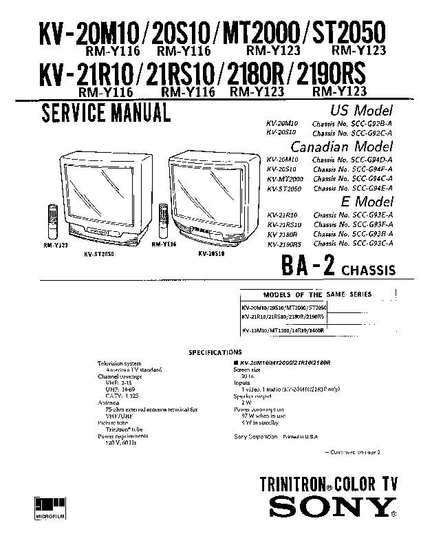 KV - 20M10 - 20S10 - MT2000 - ST2050 - 21R10 - 21RS10 - 2180R - 2190RS.pdf