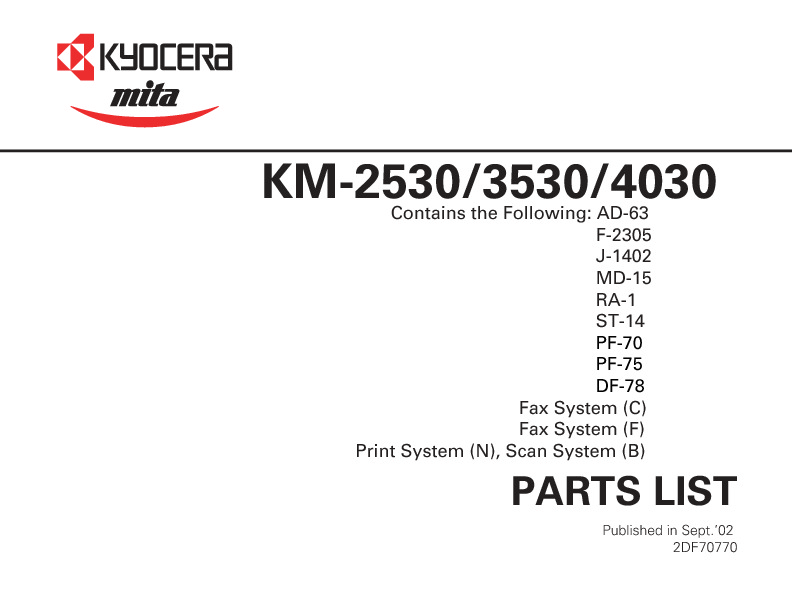 KM-2530-3530-4030 Parts List.pdf