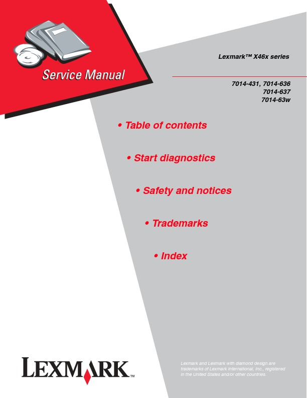Manual de Servicio Lexmark X46x.pdf
