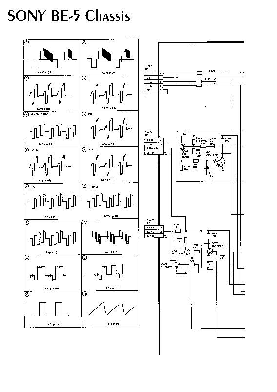 sony kv29rs22 sonbe5 1  pdf diagramas de televisores lcd y