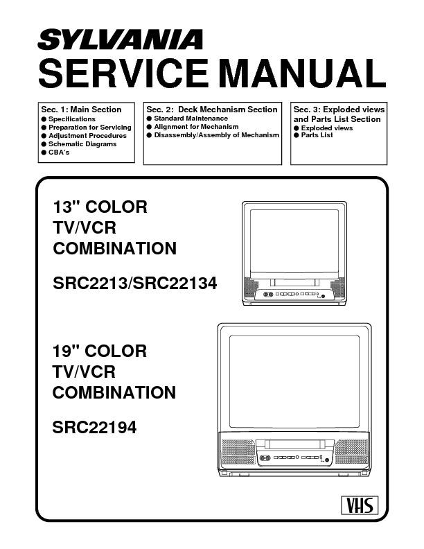 Sylvania_SRC2213_SRC22134_SRC22194.PDF