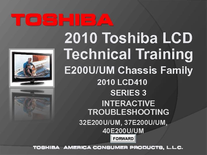 Toshiba UM 32E200U 37E200U 40E200U chasis E200U Manual entrenamiento.pdf
