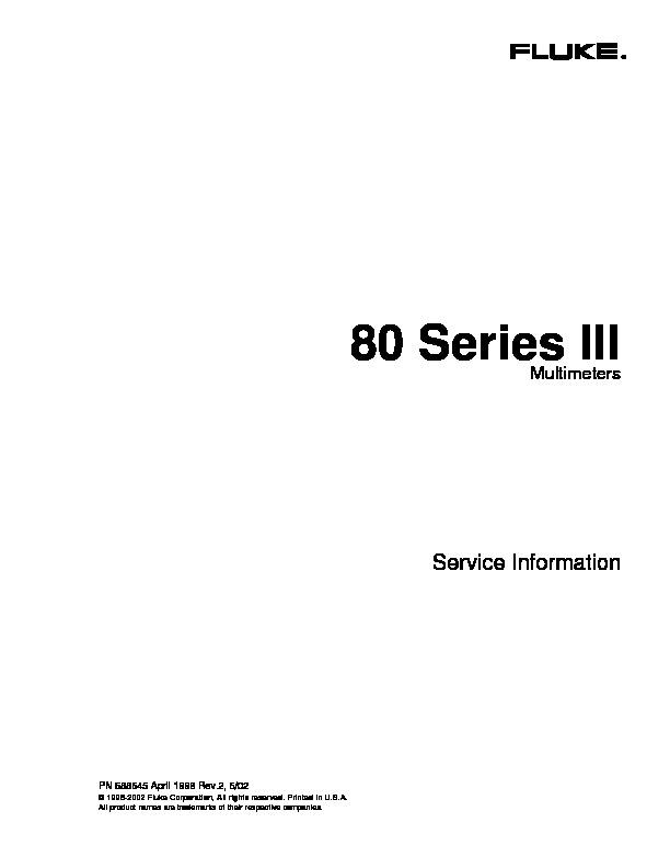 Fluke 80 Series III multimeters.pdf