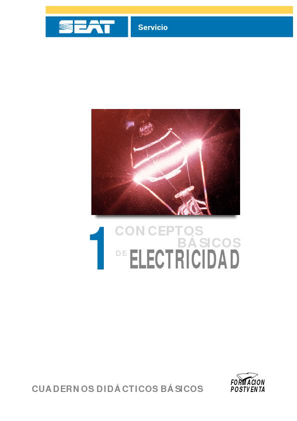 Electronica - Conceptos basicos de electricidad - Curso seat.pdf