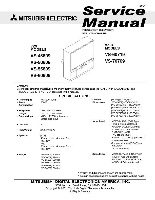mitsubishi VZ9_Service_Manual.pdf