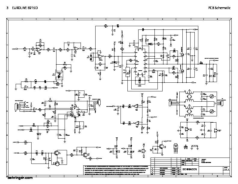behringer behringer b215d pdf diagramas de instrumentos