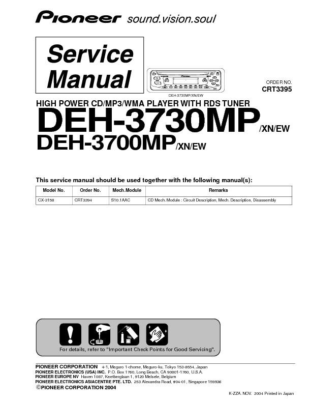 Pioneer DEH-3700MP Fix.pdf