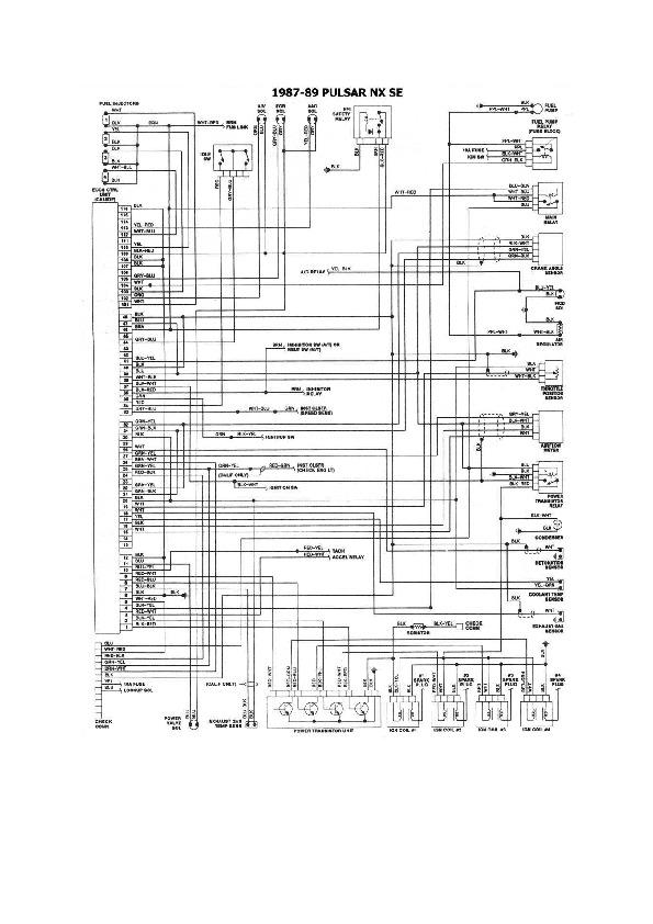 Nissan Tsuru  Sentra 8 Esqnis30 Pdf Diagramas De Autos