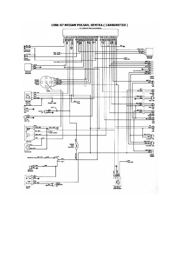 Nissan Tsuru  Sentra 7 Esqnis29 Pdf Diagramas De Autos