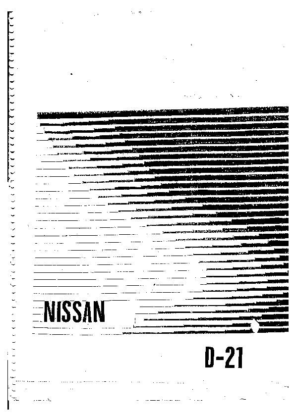 nissan nissan d21 pdf diagramas de autos