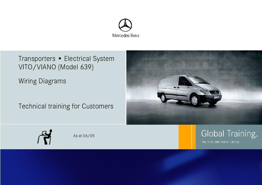 Mercedes Vito Wiring Diagram Pdf : Mercedes vito viano en inglés wiring diagrams