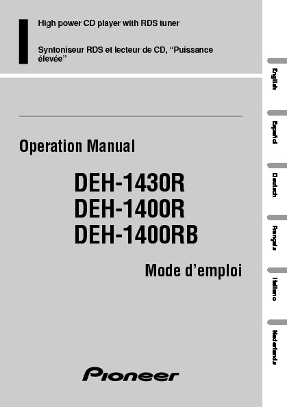 DEH-1430R_manual_EN_FR_DE_NL_IT_ES.pdf